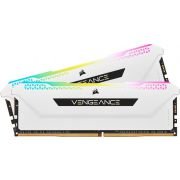 Corsair DDR4 Vengeance RGB Pro SL 2x8GB 3200 White Geheugenmodule
