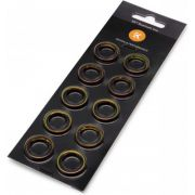 "EK Water Blocks EK-Quantum Torque Color Ring 10-Pack HDC 12 Koppelbevestigingsring 1/4"" 10 stuk(s)"