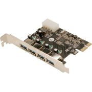 LogiLink PC0057 PCI Expres Card 4x USB3.0