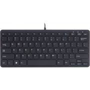 R-Go Tools Ergo Compact Keyboard QWERTY Black