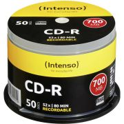 1x50 Intenso CD-R 80 / 700MB 52x Speed. Cakebox
