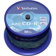 1x50-Verbatim-Data-Life-Plus-CD-R-80-52x-Speed-Spindel