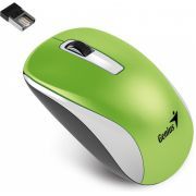 Genius NX-7010 RF Wireless+USB BlueEye 1600DPI Groen, Wit Ambidextrous