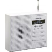 Lenco PDR-020 DAB+ Radio in wit