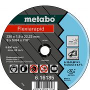 Metabo doorslijpschijf Ø 100x1.6x16.0 RVS Flexiarapid