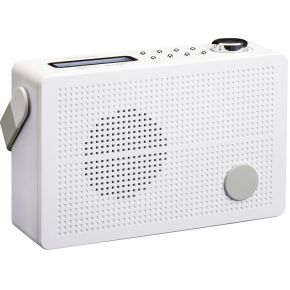 Lenco PDR-030 DAB+ Radio in wit