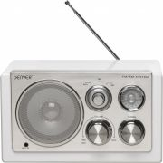 Tr-61white - Radio Met Elegant Design - Wit