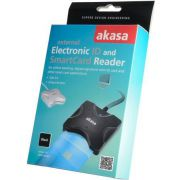 Akasa-External-Smart-Card-Read-USB-2-0-Zwart-smart-card-reader