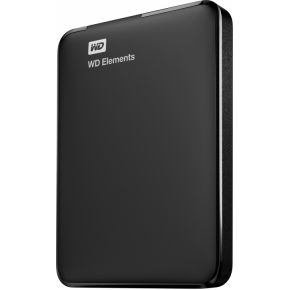 WD Elements Portable 1TB Zwart