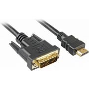 Sharkoon 2m HDMI to DVI-D