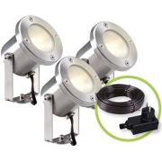 Garden Light Catalpa - Spot Light 12 V - 3 Pcs