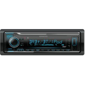 Kenwood Electronics KMM-BT504DAB Bluetooth Zwart autoradio
