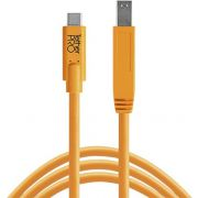 Tether Tools USB-C naar 3.0 Male B 4.60m oranje