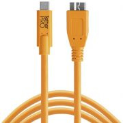 Tether Tools USB-C naar 3.0 Micro-B 4.60m oranje