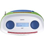 Lenco SCD-70 Boombox / DAB+ Radio/CD-speler in Multicolour