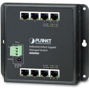 Planet WGS-4215-8T Managed Gigabit Ethernet (10/100/1000) Zwart netwerk-switch