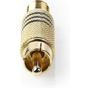 Valueline-Connector-RCA-Male-Metaal-Goud-Zwart