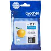 Brother LC-3211C 200paginas Cyaan inktcartridge