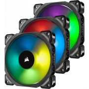 CORSAIR 3-PACK ML120 PRO RGB, Premium Magnetic Levitation, PWM, Lighting Node Pro