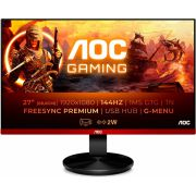 "AOC G2790PX 27"" Full HD TN Zwart computer LED display monitor"