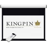 "Kingpin Screens Crown Electric Screen 117"" 16:9 projectiescherm"