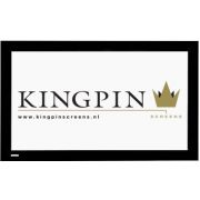 "Kingpin Screens Velvet Framed Screen 90"" 16:9 projectiescherm"