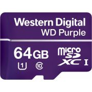 Western Digital Purple 64GB MicroSDXC Klasse 10 flashgeheugen