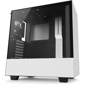 NZXT H500 - White Midi Tower Behuizing