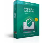 Kaspersky Lab Kaspersky Anti-Virus 2019 Base license 3licentie(s) 1jaar