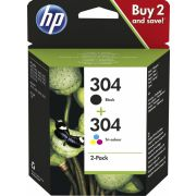 HP 304 2ml 4ml 120paginas 100paginas inktcartridge