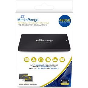 "MediaRange MR1003 internal solid state drive 480 GB SATA II, SATA III 2.5"" SSD"