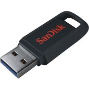 Sandisk Ultra Trek USB flash drive 128 GB 3.0 (3.1 Gen 1) USB-Type-A-aansluiting Zwart