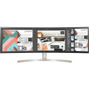 "LG 49"" 49WL95C-W ultra-wide 5120x1440 HDR curved IPS monitor"
