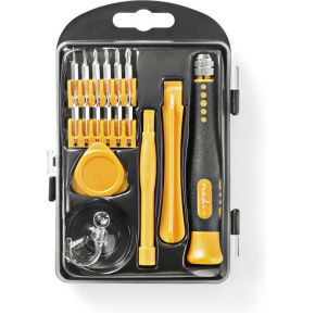 Nedis Toolkit | 17-in-1 | voor reparatie van pc, smartphone en tablet