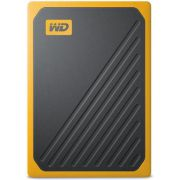 Western Digital My Passport Go 1000 GB Zwart, Geel externe SSD