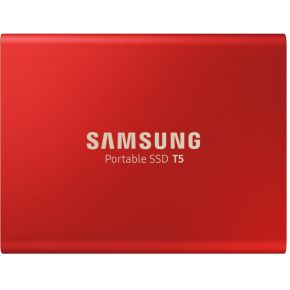 Samsung Portable T5 1TB Rood externe SSD