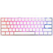 Ducky One 2 Mini RGB Pure White (MX Silent Red, US Layout, RGB leds, 60%, PBT Double Shot)