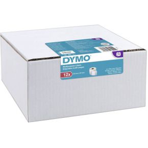Dymo multifunctionele etiketten 32 x 57 mm wit 12x 1000 st.