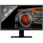 "Benq GL2480 computer 61 cm (24"") Full HD LED Flat Zwart monitor"