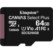 Kingston Technology Canvas Select Plus flashgeheugen 64 GB SDXC Klasse 10 UHS-I
