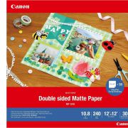 Canon MP-101 D 12x12 . 30 vel double sided mat paper. 240 g