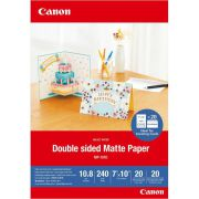 Canon MP-101 D 7x10 . 20 vel double sided mat paper. 240 g