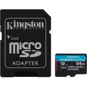Kingston MicroSD Canvas Go! Plus 64GB