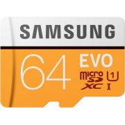 Samsung EVO Plus 64 GB MB-MP64HA/EU flashgeheugen MicroSDXC Klasse 10 UHS-I