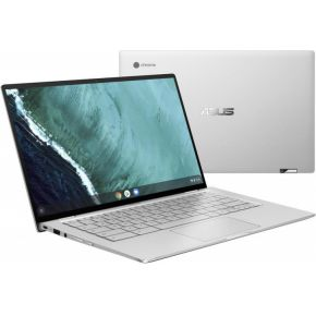 "ASUS Chromebook Flip C434TA-AI0296 Zilver 35,6 cm (14"") 1920 x 1080 Pixels Touchscreen Intel® Core laptop"