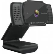 Conceptronic AMDIS02B webcam 5 MP 2592 x 1944 Pixels USB 2.0 Zwart