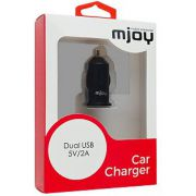 MJOY Car Charger Dual 3.1A Black