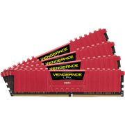 Corsair DDR4 Vengeance LPX 4x4GB 2133 C13 Red Geheugenmodule