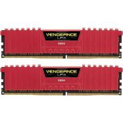Corsair DDR4 Vengeance LPX 2x8GB 2666 C16 Red Geheugenmodule