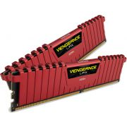Corsair DDR4 Vengeance LPX 2x8GB 3200 C16 Red Geheugenmodule
